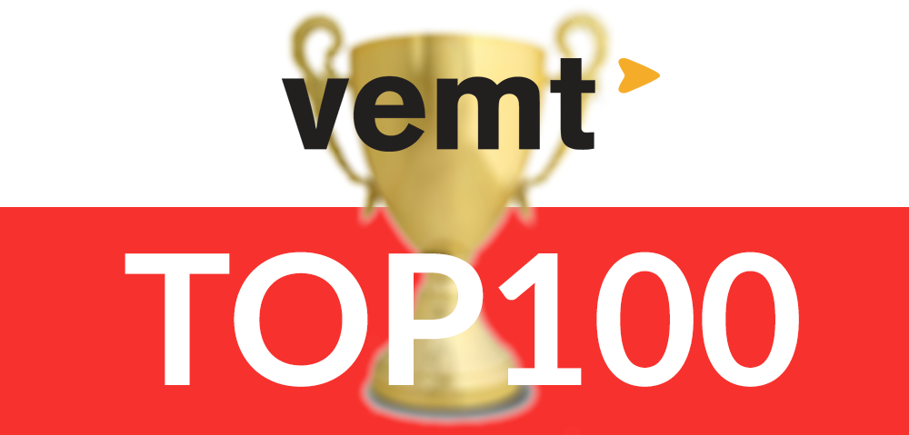 VEMT In Top 100 Red Herring Europe