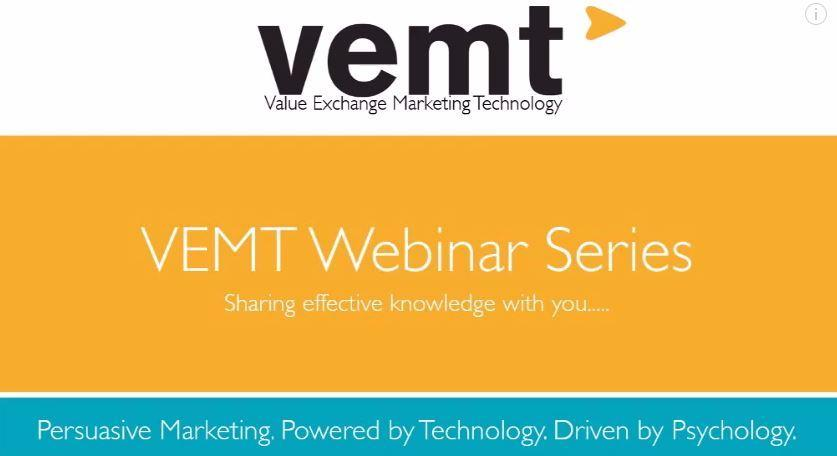 VEMT Webinar Series: Persuasion Marketing (Video)
